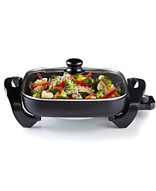 "12"" Nonstick Electric Skillet"