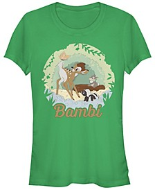 Women's Bambi Papercut Short Sleeve T-shirt