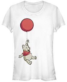 Women's Winnie the Pooh Balloon Winnie Short Sleeve T-shirt