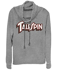 Women's TaleSpin Logo Spin Fleece Cowl Neck Sweatshirt