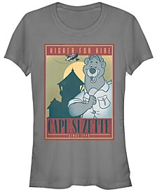 Women's TaleSpin Cape Suzette Poster Short Sleeve T-shirt