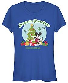 Women's Disney Mickey Classic Greetings From Granny Short Sleeve T-shirt
