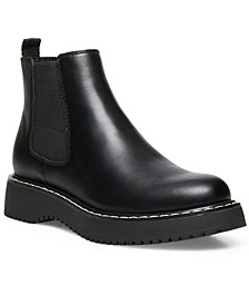 Kwenn Lug Sole Chelsea Booties