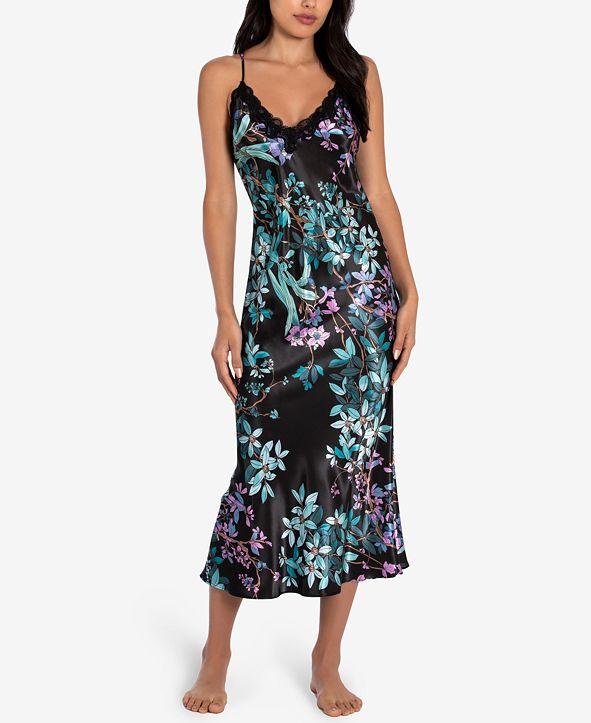 Linea Donatella Floral Print Nightgown