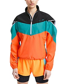 Women's Train First Mile Xtreme Colorblocked Half-Zip Training Jacket