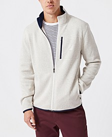 Men's Classic-Fit Full-Zip Fleece Sweatshirt