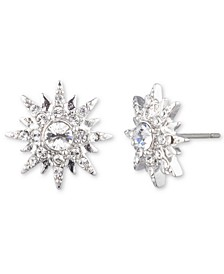 Crystal Star Cluster Stud Earrings