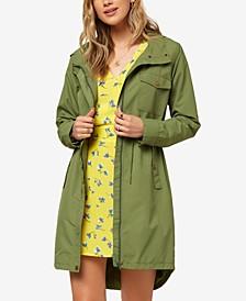 Juniors' Galen Hooded Rain Jacket