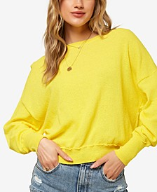 Juniors' Sandy Slouchy Sweater