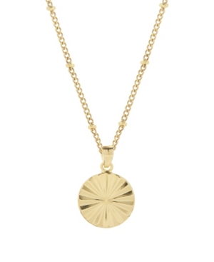 14K Gold Plated Celeste Pendant Necklace