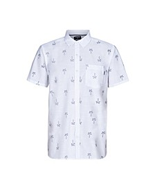 Men's One and Only Paisley Palm Short Sleeve Shirt