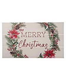 Wooden Merry Christmas Wall Decor