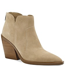 Women's Gradesha Stacked-Heel Booties