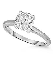 Diamond (1 ct. t.w.) Engagement Ring in 14K White, Yellow or Rose Gold