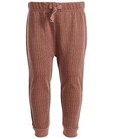 Baby Boys Tweed Pattern Jogger, Created for Macy's