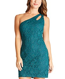 Juniors' Bodycon One-Shoulder Dress