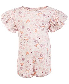 Baby Girls Ruffle Sleeve Bodysuit, Created for Macy's