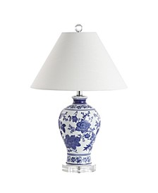 Song Chinoiserie Floral LED Table Lamp