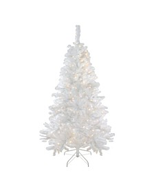 Pre-Lit Medium Iridescent Pine Artificial Christmas Tree
