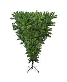 Unlit Sugar Pine Artificial Upside Down Christmas Tree