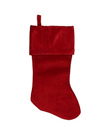 Traditional Solid Hanging Christmas Stocking
