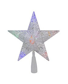Lighted 5 Point Star Christmas Tree Topper-LED Lights