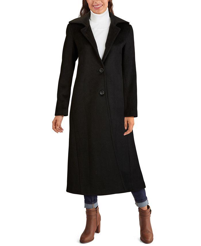 Jones New York - Single-Breasted Maxi Coat