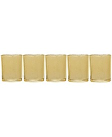 Holiday s/5 Gold Votives