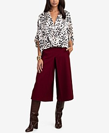 Concourse Animal Print Top