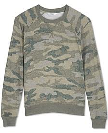 Cloud Jersey Camo-Print Sweatshirt