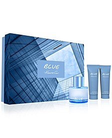 Men's 3-Pc. Blue Eau de Toilette Gift Set