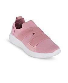 Women's Elite Slip On Branded Sneakers