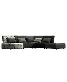 Madouri Modular 5 Piece Sectional Sofa