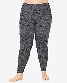 Plus Size Softwear High-Waist Leggings