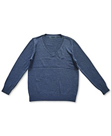 Cotton V-Neck Sweater, Created for Macy's
