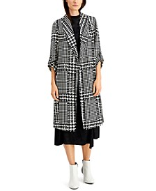 Plaid Duster Jacket, Created for Macy's
