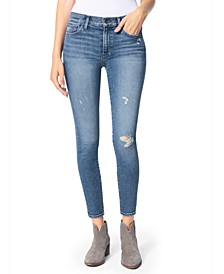 The Icon Mid-Rise Skinny Ankle Jeans
