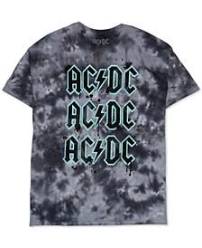 Trendy Plus Size ACDC Tie-Dye T-Shirt