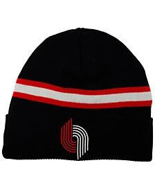 Portland Trail Blazers HWC Retro Stripe Knit