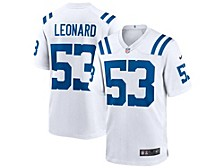 Indianapolis Colts Men's Game Jersey Darius Leonard