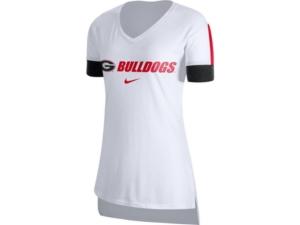 Nike Georgia Bulldogs Women's Fan V-Neck T-Shirt