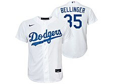 Los Angeles Dodgers Youth Official Player Jersey Cody Bellinger