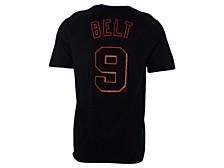 San Francisco Giants Men's Name and Number Player T-Shirt Brandon Belt