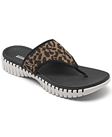 Women's GOwalk Smart Wild Cat Flip Flop Thong Sandals from Finish Line