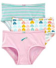 Little Girls Cotton Undies Pack of 3