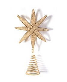 by Laura Johnson Beaded Star Tree Topper