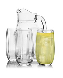 Linka 5 Piece Pitcher and Tumbler Set