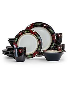 Homestead 16 Piece Luxurious Stoneware Dinnerware Set