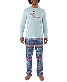 Men's Peanuts Family Pajama Set