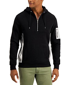 INC Men's Metallic Patch Hoodie, Created for Macy's